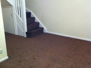 Photo - Carpeting fitting for living area leading onto a staircase for a property in Garstang