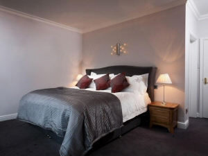 Photo - Finished bedroom decorated as part of a hotel refurbishment project near Kendal